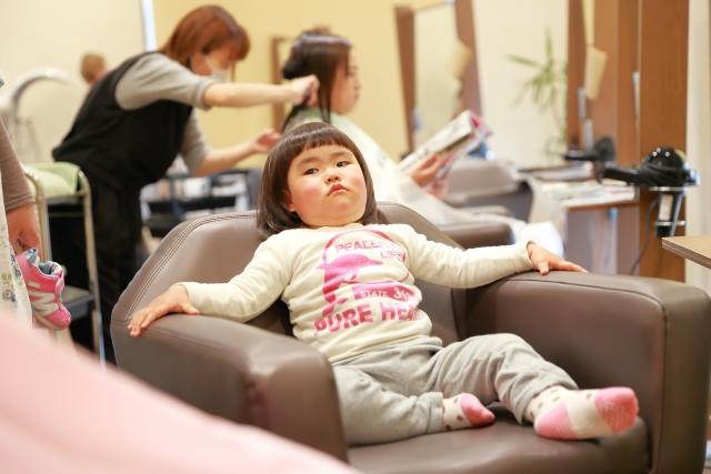 浦安で子連れOKの美容室イメージ1