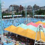 江戸川区プールガーデン 5つのプールで一日中遊べる屋外プール