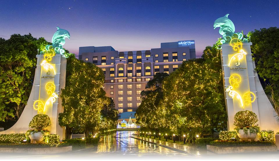 ウィンターイルミネーション In ホテルオークラ東京ベイ