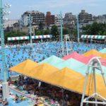 (閉鎖)江戸川区プールガーデン 5つのプールで一日中遊べる屋外プール 2013