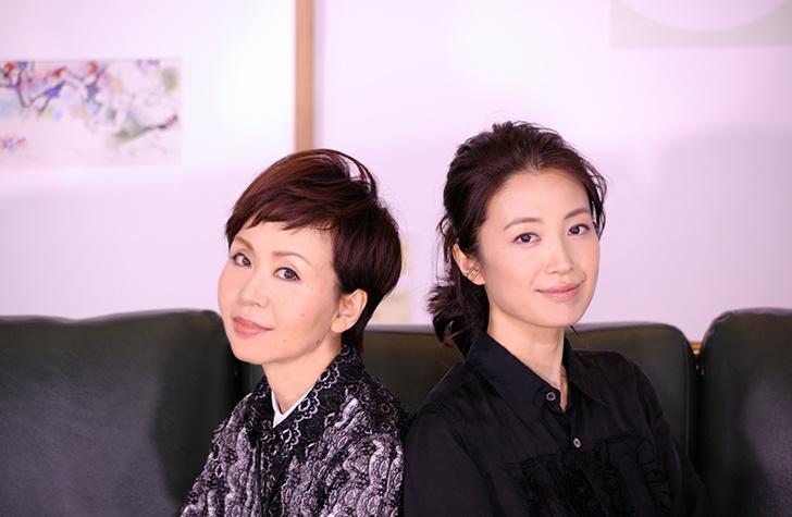 谷川公子 × 村治佳織 ココエカオリ